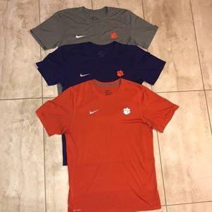 Clemson Nike Dri Fit T-shirt